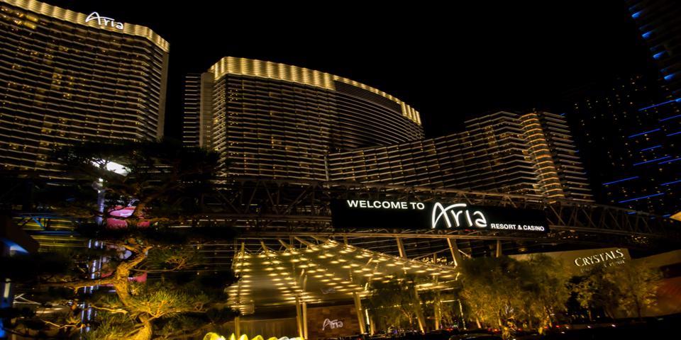ARIA hotel in Vegas