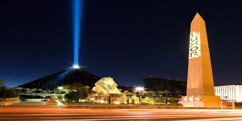 Luxor hotel in Vegas