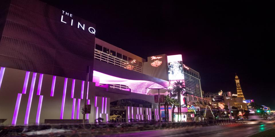 The LINQ Hotel in Vegas