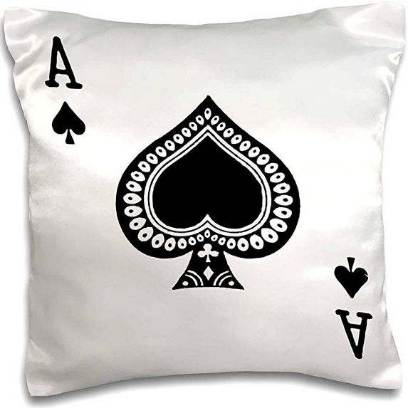 Ace of Spades Pillow Case