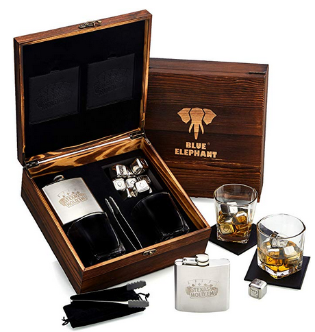 Poker Whiskey Stones Gift Set