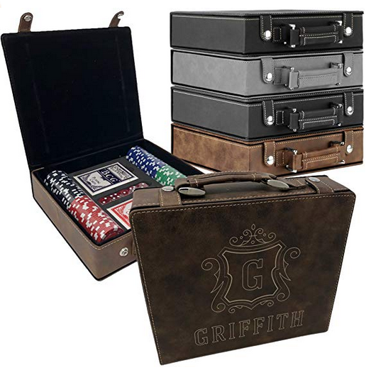 Personalized Poker Set Case