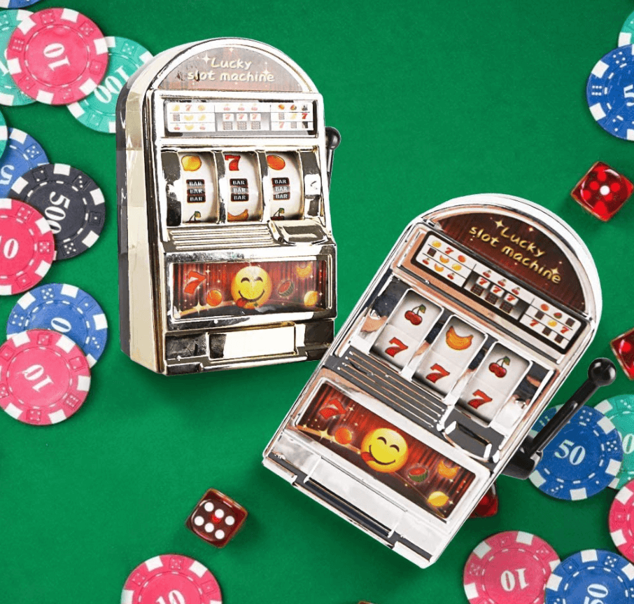 BigOtter Mini Slot Machine Toy Bank