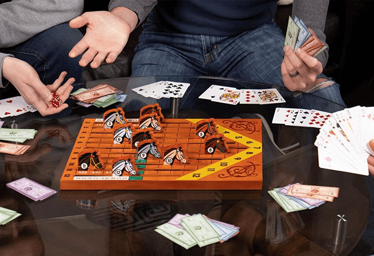 Horse Racing Board Game