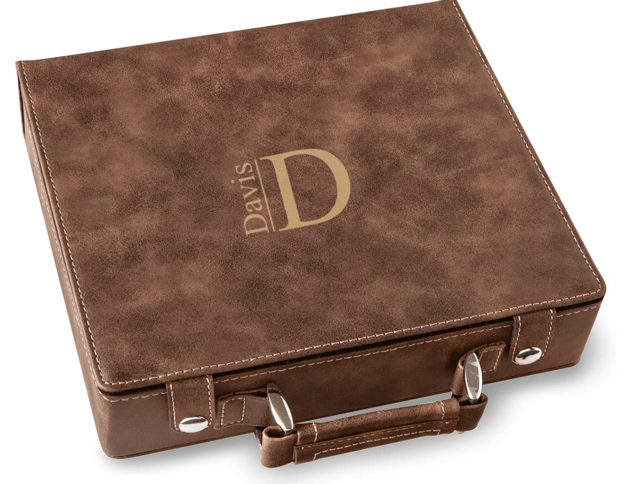 A Gift Personalized Poker Set Case